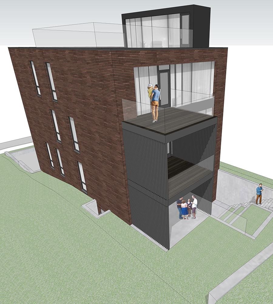 New Home multi-unit home Casa loma