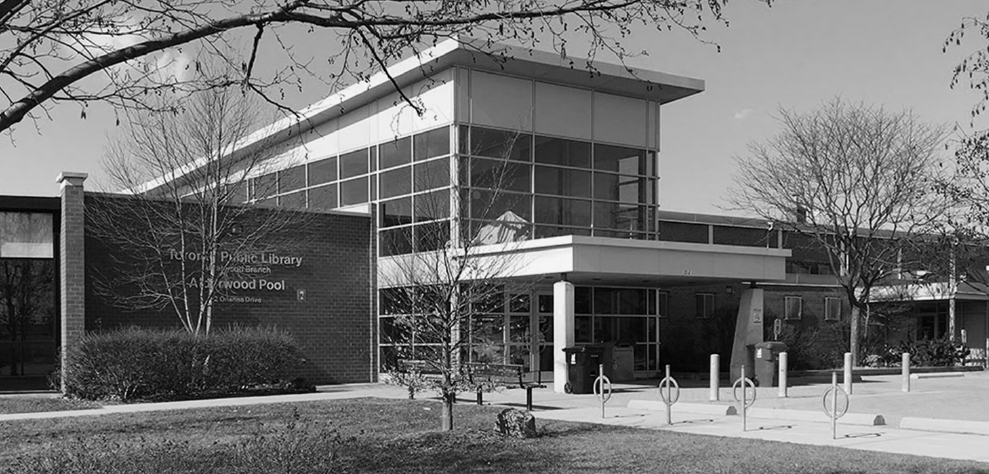Toronto public Library Alderwood neighbourhood and Alderwood pool